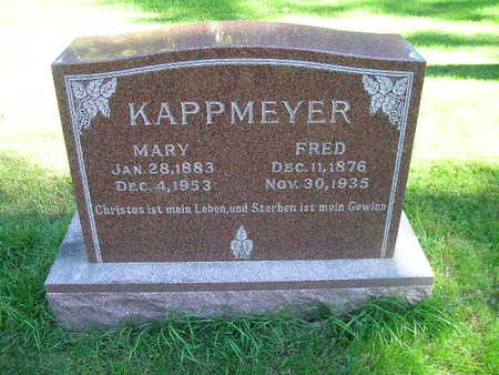 KAPPMEYER, MARY - Bremer County, Iowa | MARY KAPPMEYER