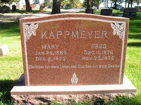 KAPPMEYER, FRED - Bremer County, Iowa | FRED KAPPMEYER