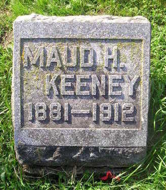 KEENEY, MAUD H. - Bremer County, Iowa | MAUD H. KEENEY