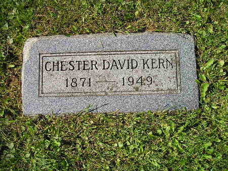 KERN, CHESTER DAVID - Bremer County, Iowa | CHESTER DAVID KERN
