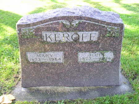 KEROFF, MARY - Bremer County, Iowa | MARY KEROFF