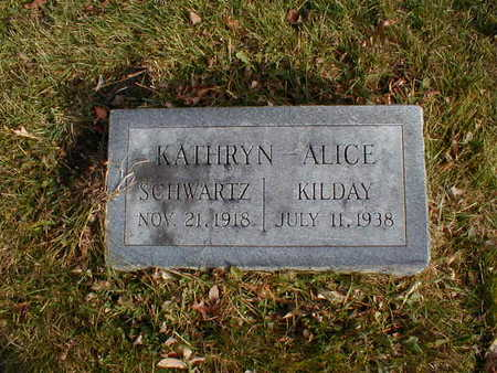 KILDAY, KATHRYN ALICE - Bremer County, Iowa | KATHRYN ALICE KILDAY
