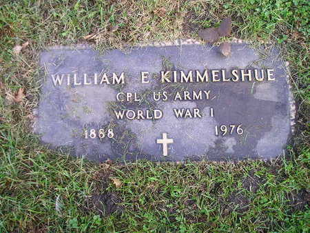 KIMMELSHUE, WILLIAM E - Bremer County, Iowa | WILLIAM E KIMMELSHUE