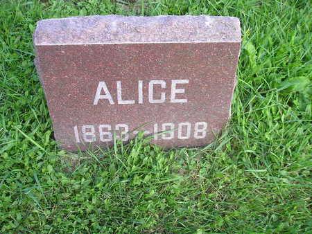 KINGSLEY, ALICE - Bremer County, Iowa | ALICE KINGSLEY