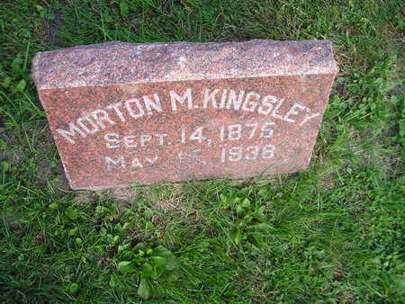 KINGSLEY, MORTON M - Bremer County, Iowa | MORTON M KINGSLEY