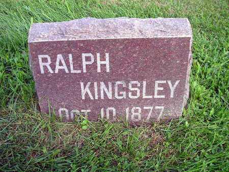 KINGSLEY, RALPH - Bremer County, Iowa | RALPH KINGSLEY