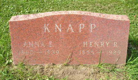 KNAPP, HENRY R - Bremer County, Iowa | HENRY R KNAPP