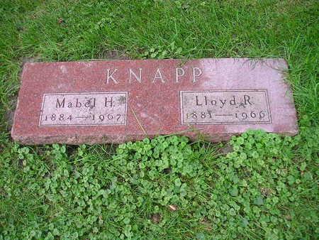 KNAPP, MABEL H - Bremer County, Iowa | MABEL H KNAPP
