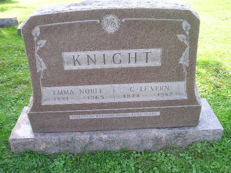 KNIGHT, C LE VERN - Bremer County, Iowa | C LE VERN KNIGHT