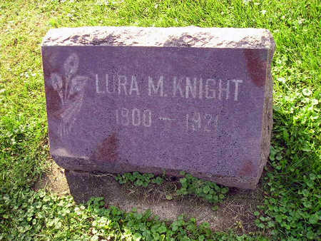 KNIGHT, LURA M - Bremer County, Iowa | LURA M KNIGHT