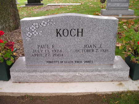 KOCH, PAUL F - Bremer County, Iowa | PAUL F KOCH