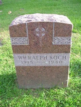 KOCH, WM RALPH - Bremer County, Iowa | WM RALPH KOCH