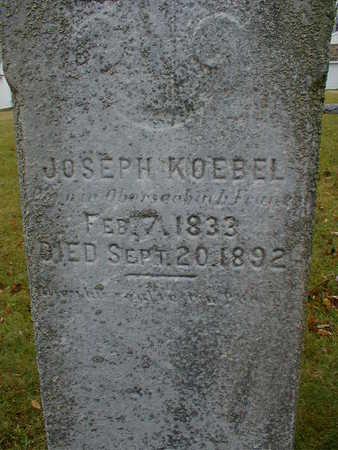 KOEBEL, JOSEPH - Bremer County, Iowa | JOSEPH KOEBEL