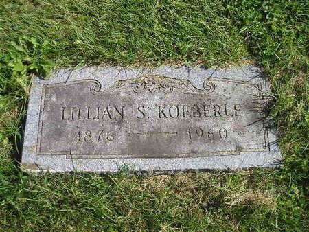 KOEBERLE, LILLIAN S - Bremer County, Iowa | LILLIAN S KOEBERLE