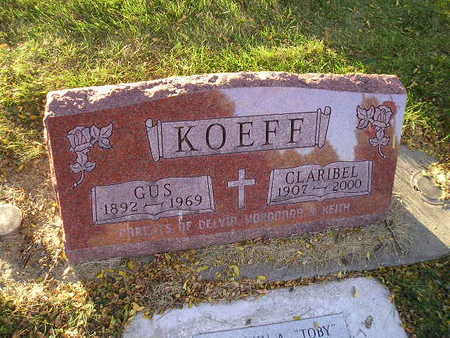 KOEFF, GUS - Bremer County, Iowa | GUS KOEFF