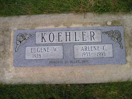 KOEHLER, EUGENE W - Bremer County, Iowa | EUGENE W KOEHLER