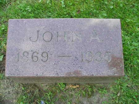 KOHAGEN, JOHN A - Bremer County, Iowa | JOHN A KOHAGEN