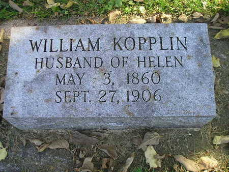 KOPPLIN, WILLIAM - Bremer County, Iowa | WILLIAM KOPPLIN