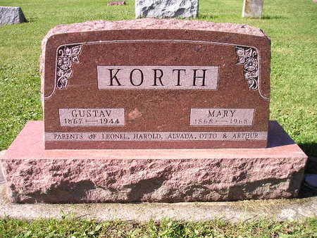 KORTH, MARY - Bremer County, Iowa | MARY KORTH