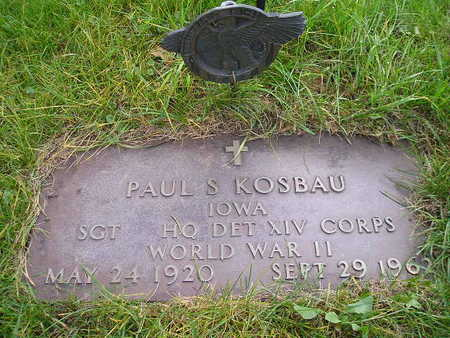 KOSBAU, PAUL S - Bremer County, Iowa | PAUL S KOSBAU