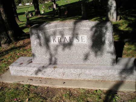 KRAUSE, FAMILY - Bremer County, Iowa   FAMILY KRAUSE