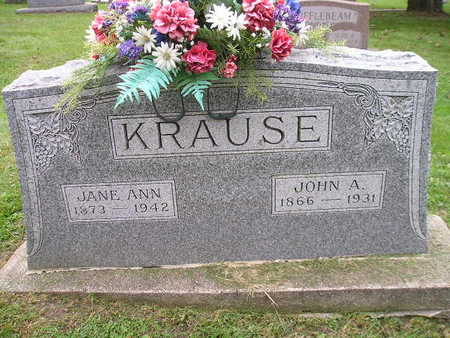 KRAUSE, JOHN A - Bremer County, Iowa | JOHN A KRAUSE
