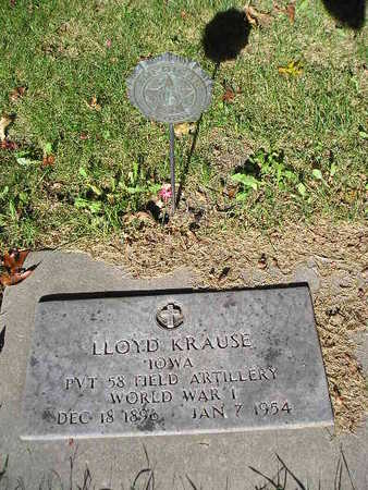KRAUSE, LLOYD - Bremer County, Iowa | LLOYD KRAUSE