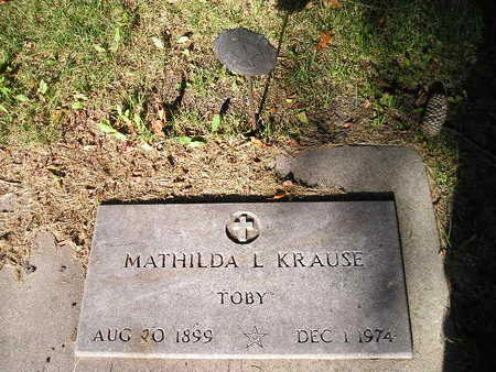 KRAUSE, MATHILDA L