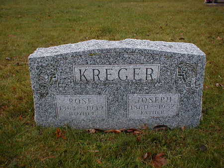KREGER, ROSE - Bremer County, Iowa | ROSE KREGER