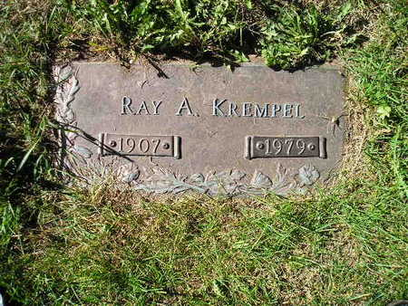 KREMPEL, RAY A - Bremer County, Iowa | RAY A KREMPEL