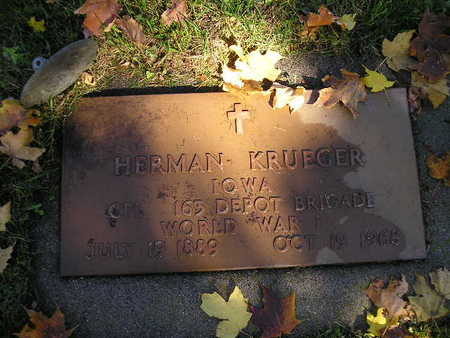 KRUEGER, HERMAN - Bremer County, Iowa | HERMAN KRUEGER
