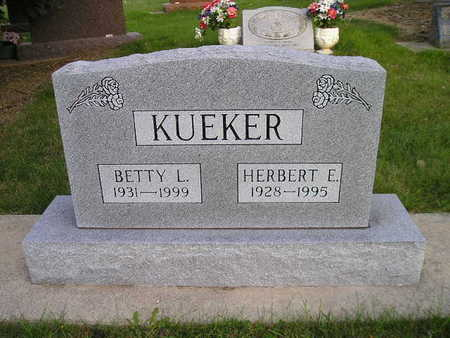 KUEKER, BETTY L - Bremer County, Iowa | BETTY L KUEKER