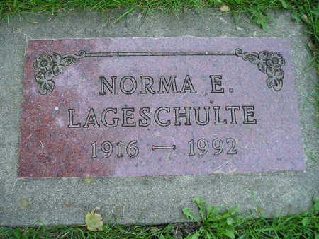 LAGESCHULTE, NORMA E - Bremer County, Iowa | NORMA E LAGESCHULTE