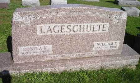 LAGESCHULTE, WILLIAM E - Bremer County, Iowa | WILLIAM E LAGESCHULTE