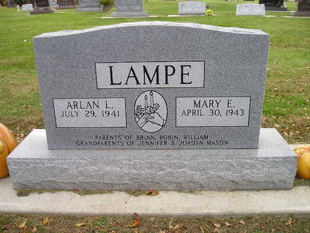 LAMPE, MARY E - Bremer County, Iowa | MARY E LAMPE