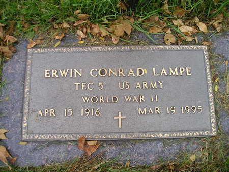 LAMPE, ERWIN CONRAD - Bremer County, Iowa | ERWIN CONRAD LAMPE