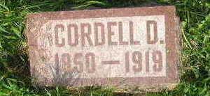 LASHBROOK, CORDELL - Bremer County, Iowa | CORDELL LASHBROOK