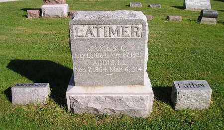 LATIMER, JAMES G - Bremer County, Iowa | JAMES G LATIMER