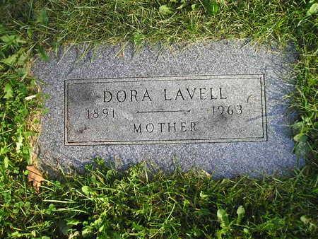LAVELL, DORA - Bremer County, Iowa | DORA LAVELL
