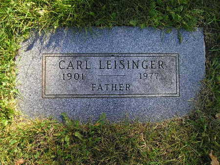 LEISINGER, CARL - Bremer County, Iowa | CARL LEISINGER