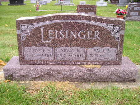 LEISINGER, GEORGE A - Bremer County, Iowa | GEORGE A LEISINGER