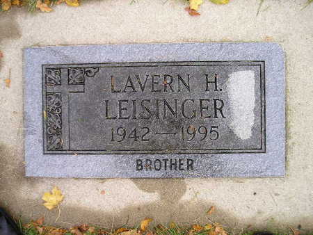 LEISINGER, LAVERN H - Bremer County, Iowa | LAVERN H LEISINGER