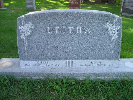 LEITHA, RUTH - Bremer County, Iowa | RUTH LEITHA
