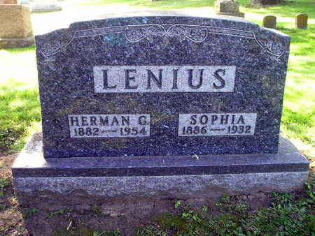LENIUS, HERMAN G - Bremer County, Iowa | HERMAN G LENIUS