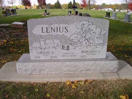 LENIUS, MARGARET E - Bremer County, Iowa | MARGARET E LENIUS