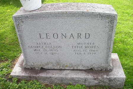 LEONARD, GEORGE - Bremer County, Iowa | GEORGE LEONARD