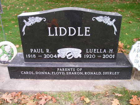 LIDDLE, PAUL R - Bremer County, Iowa | PAUL R LIDDLE