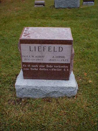 LIEFELD, F W ALBERT - Bremer County, Iowa | F W ALBERT LIEFELD