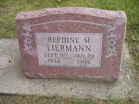 LIERMANN, BERDINE M - Bremer County, Iowa | BERDINE M LIERMANN