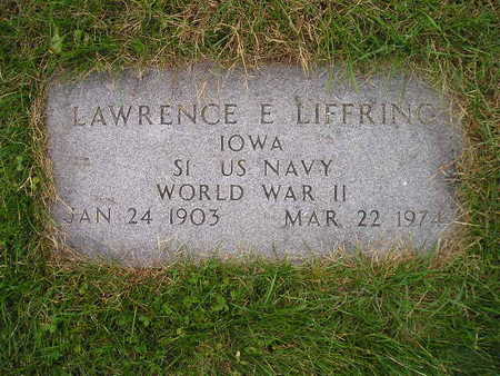 LIFFRING, LAWRENCE E - Bremer County, Iowa | LAWRENCE E LIFFRING